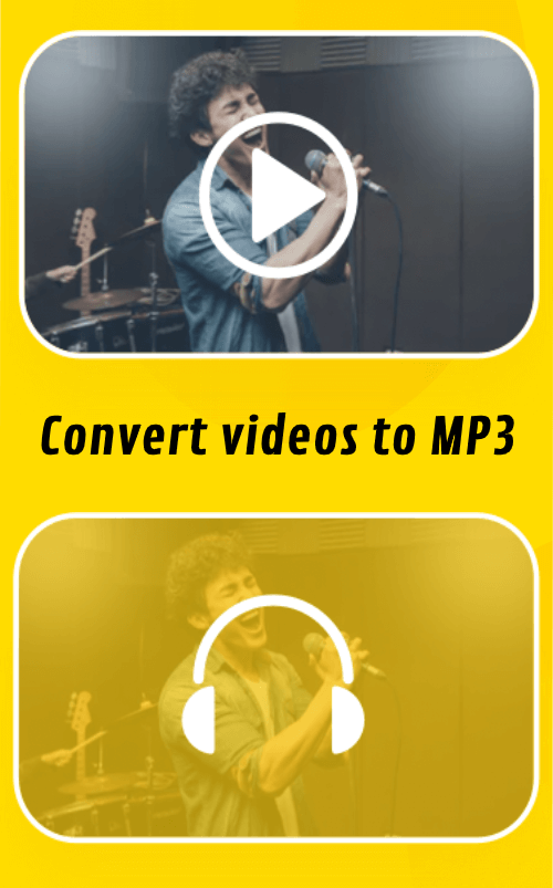 Snaptube App convert video into mp3